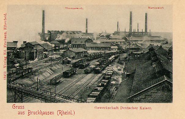 Bruckhausen Thomas-Stahlwerk