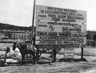In Campo Limpo bei Sao Paulo errichtete Krupp 1960/61 das modernste Zulieferwerk für die Automobilindustrie in Südamerika.
