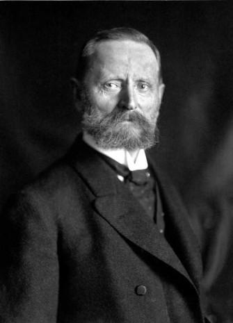 Joseph Thyssen, Bruder und enger Vertrauter August Thyssens, um 1900.