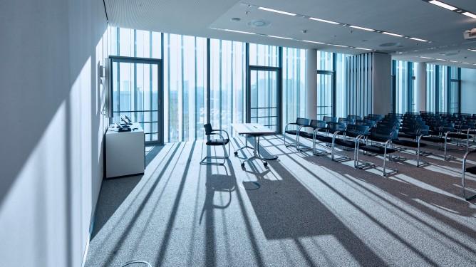 Bürogebäude werden durch geothermische Anlage beheizt