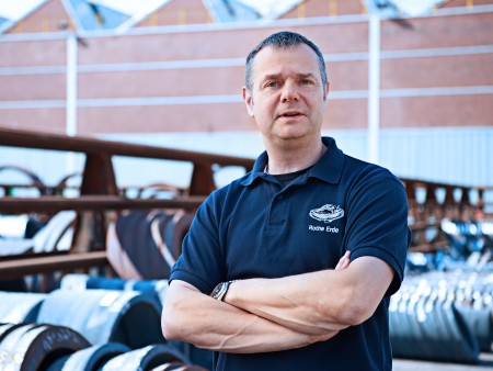Olaf Reinemann, specialist for ring rolling mills