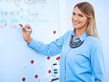 Jana Berning, empleada de marketing