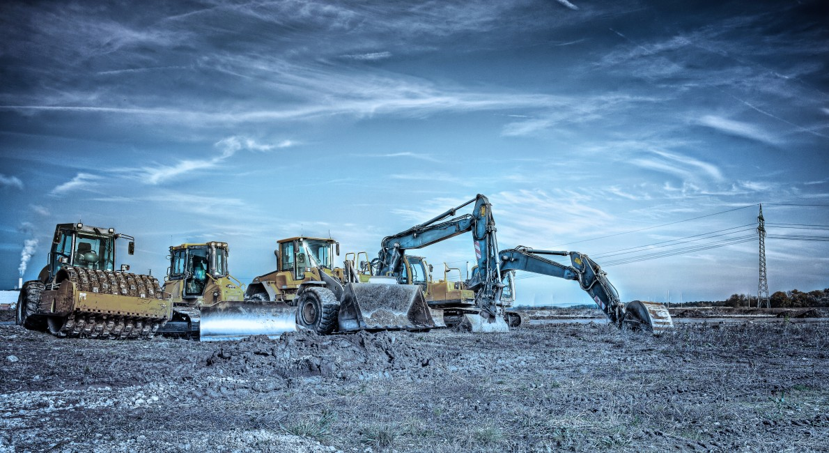 Slewing bearings in construction machines