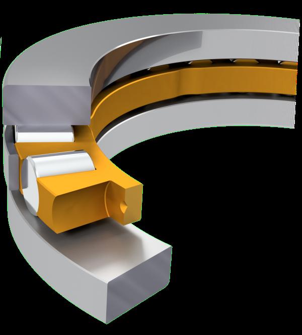 Axial ball roller bearings