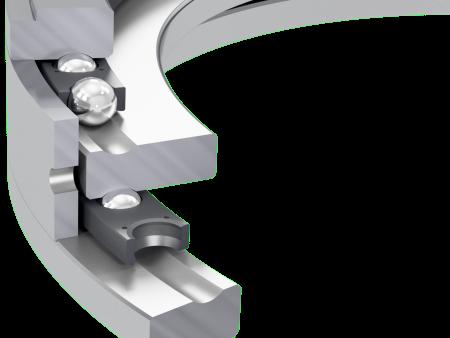 Rodamientos axiales de efecto bilateral