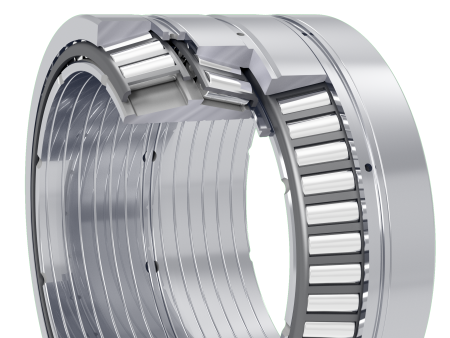 Multi-row tapered roller bearings