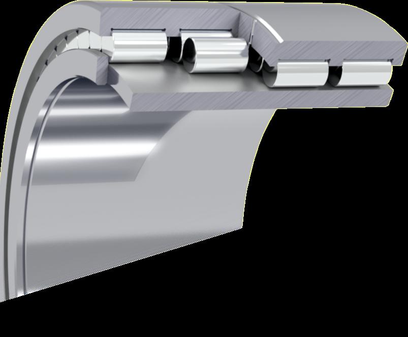 Multi-row cylindrical roller bearings