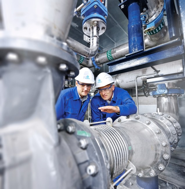 thyssenkrupp bearing installation and commissioning