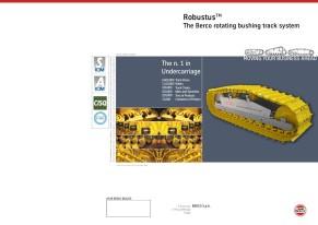 RobustusTM - The Berco rotating bushing track system