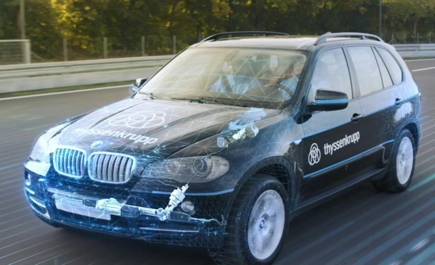 thyssenkrupp autonomes fahren