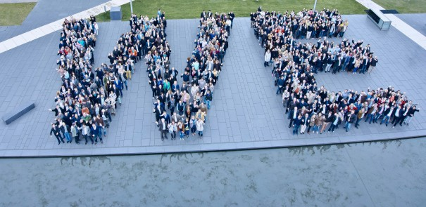 Employee group photo of thyssenkrupp