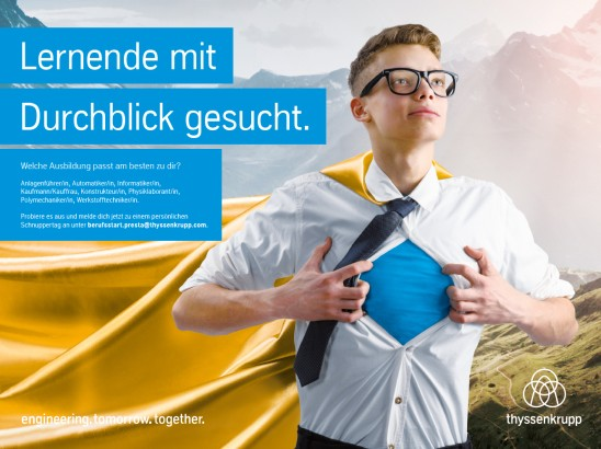 Student internship at thyssenkrupp