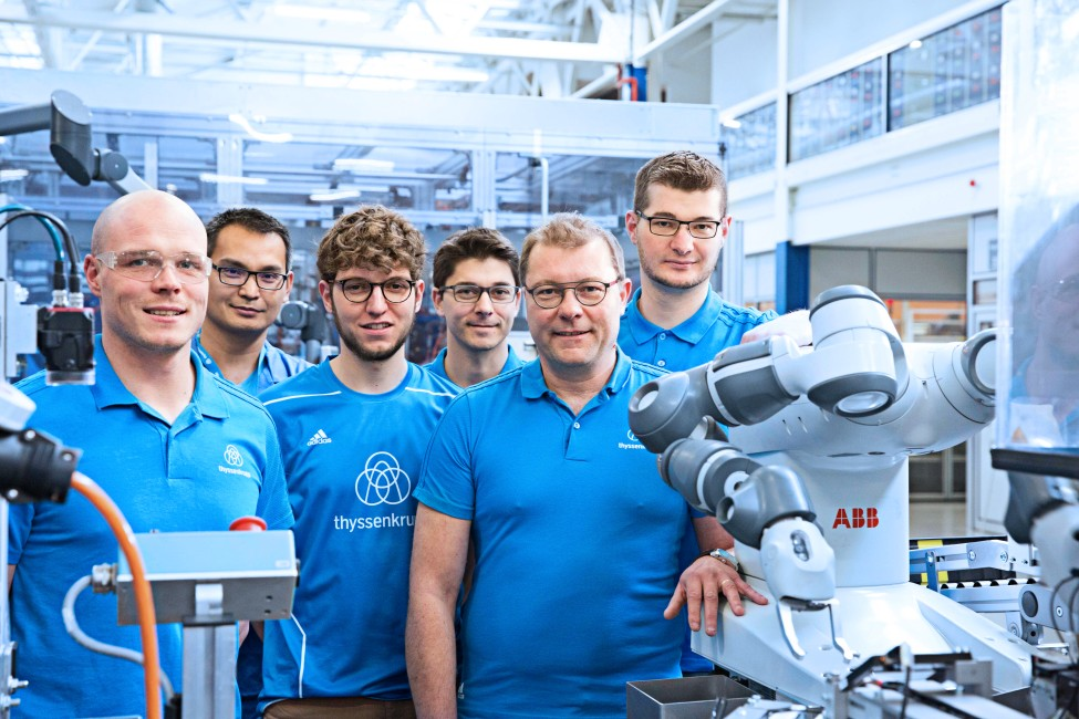 Careers at thyssenkrupp Steering