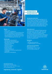 Information about the apprenticeship plant operator