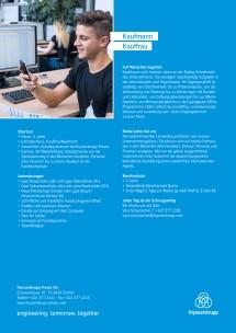 Informationen zum Lehrberuf Kaufmann/frau