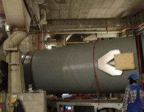 Powder cooler replacement - thyssenkrupp