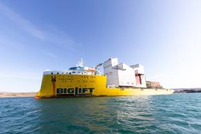 Hafenumschlagsystem für Baffinland / Ankunft in Kanada