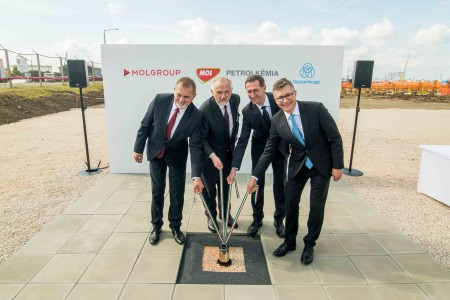 MOL and thyssenkrupp lay foundation stone for new polyol complex in Hungary