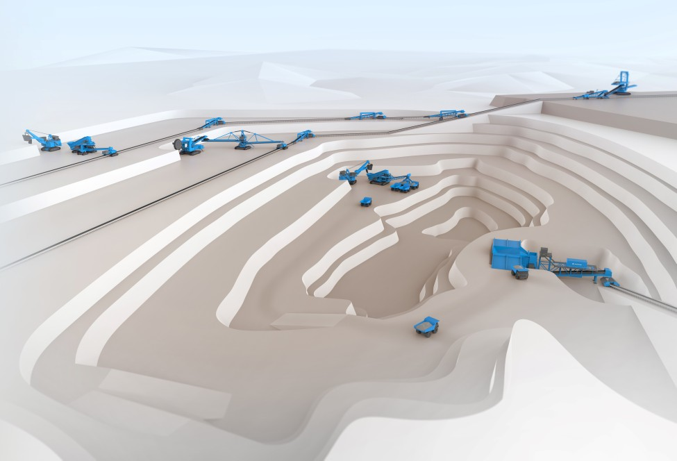 Continuous mining system
