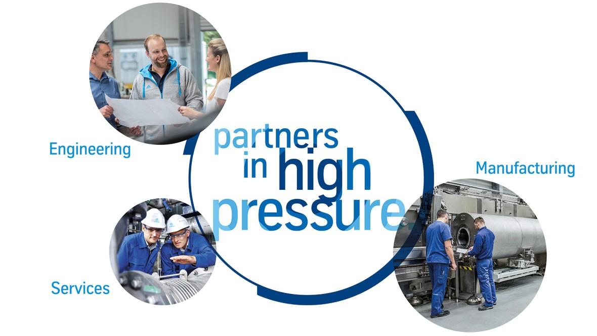 Partners in high pressure