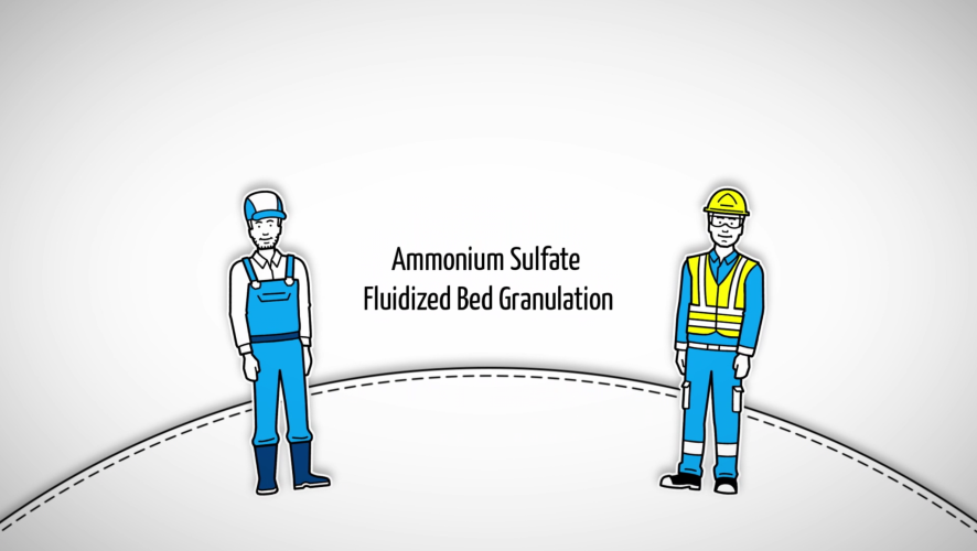 Ammonium Sulfate Fluidized Bed Granulation