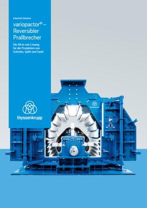 Broschuere variopactor - reversibler Prallbrecher von thyssenkrupp Industrial Solutions