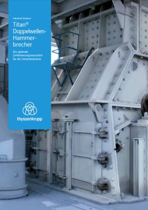 TITAN Doppelwellen-Hammerbrecher Broschüre