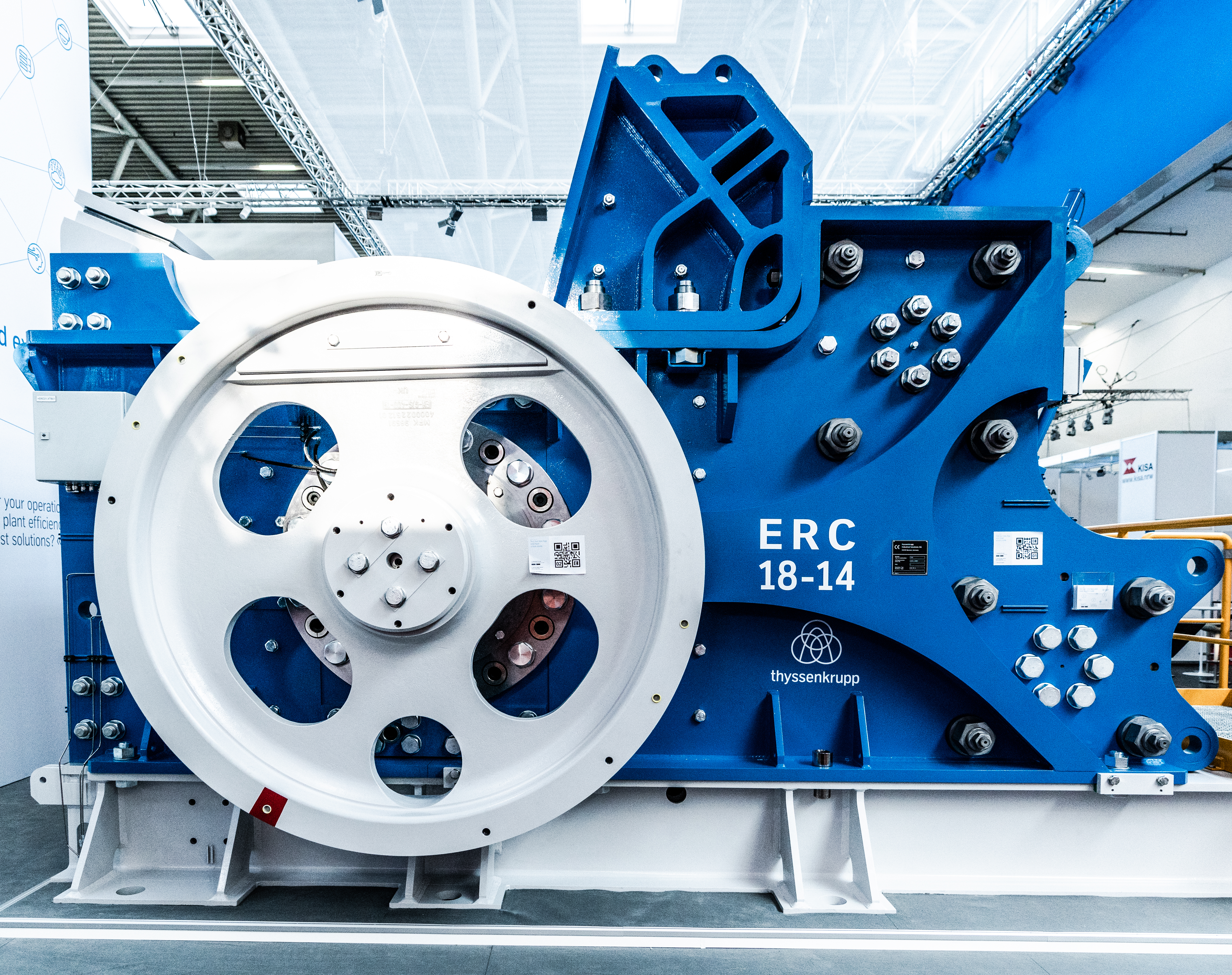 Tested in Germany. Learn more about the potential we developed with our eccentric roll crusher.