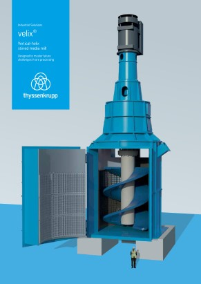 velix® – Vertical Helix Stirred Mill