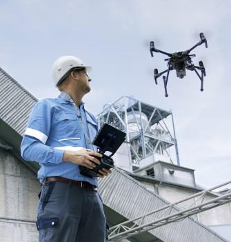 Smart stockyard insprection by drone