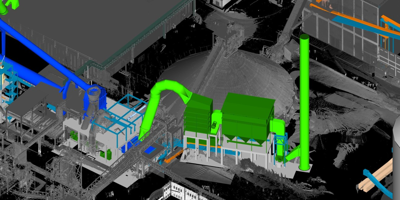Pointcloud with PDMS