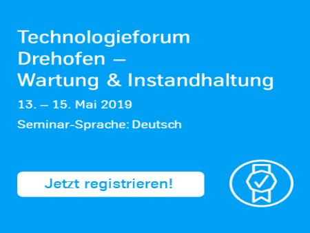 Technologieforum Drehofen – Wartung und Instandhaltung