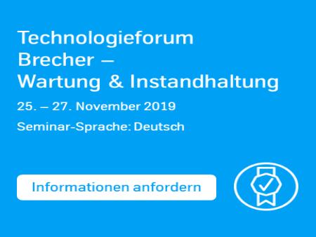 Tecnologie Forum Brecher - mehr Informationen