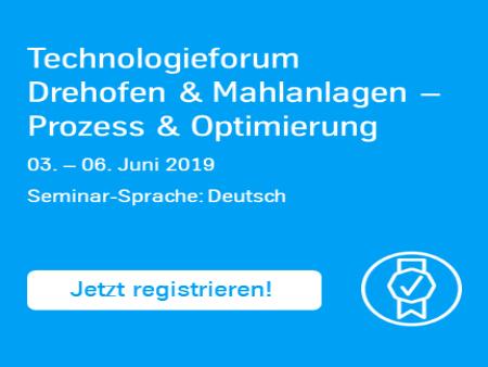 Technologieforum, Seminar, Drehofen & Mahlanlagen, Prozess und Optimierung, thyssenkrupp