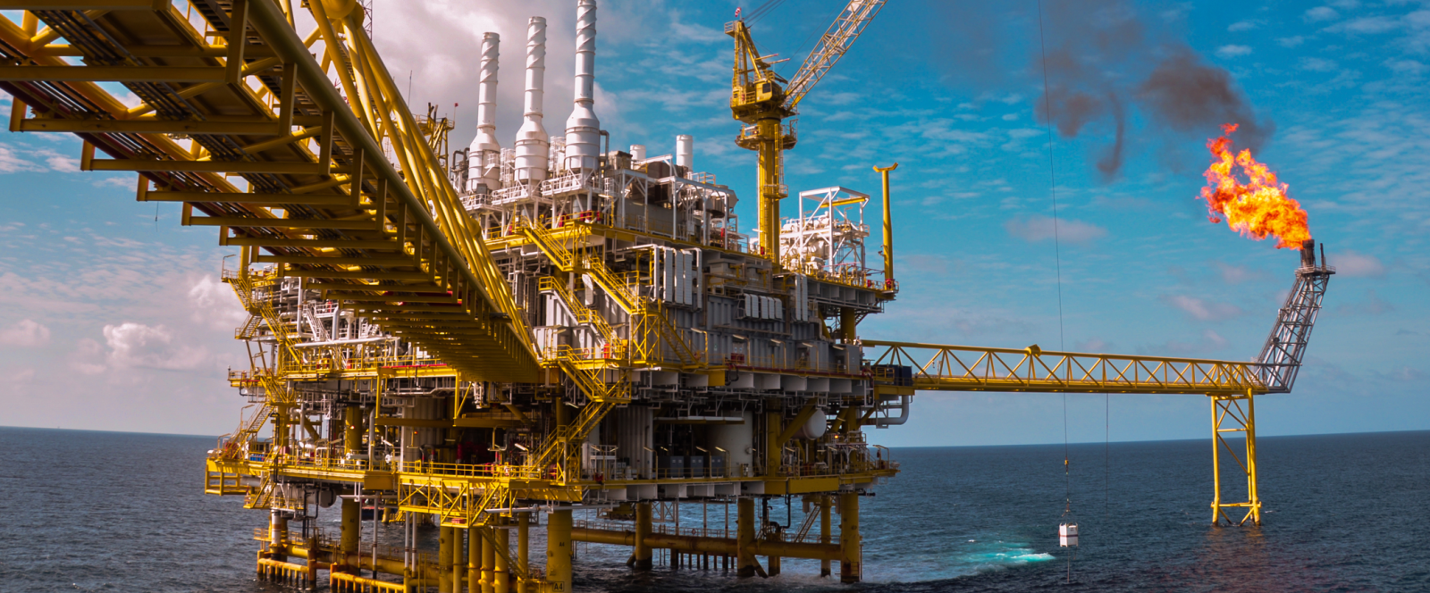 Producción de gas y petróleo