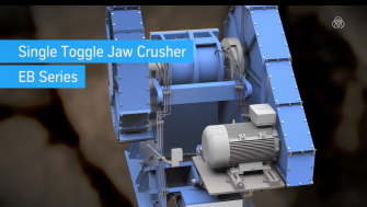 Jaw crusher product video