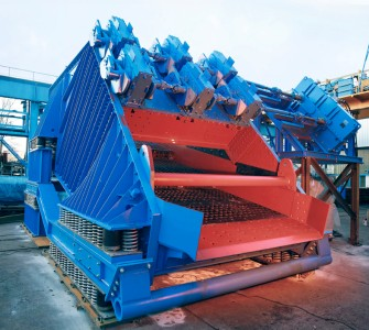 linear vibrating screens for mining