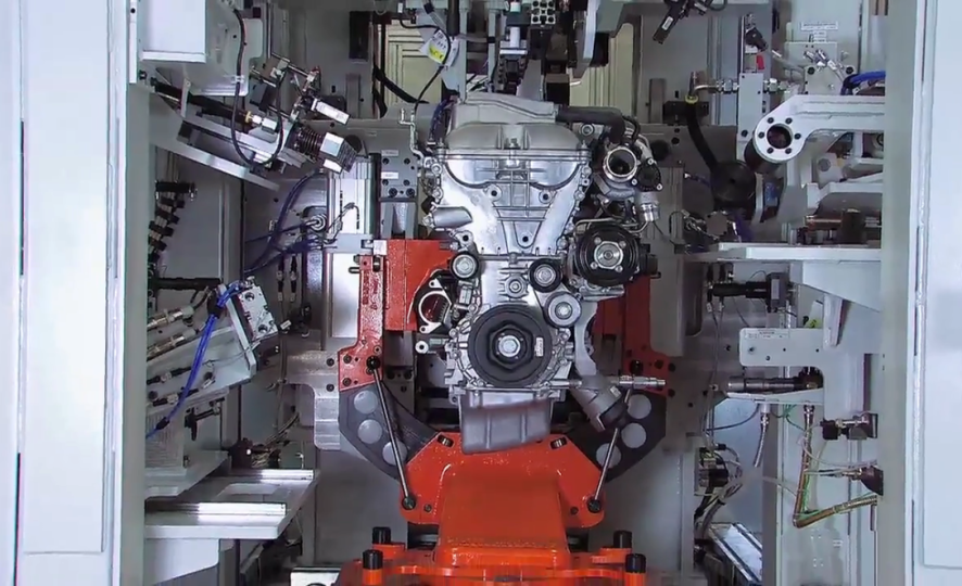 End of line test for turbochargers