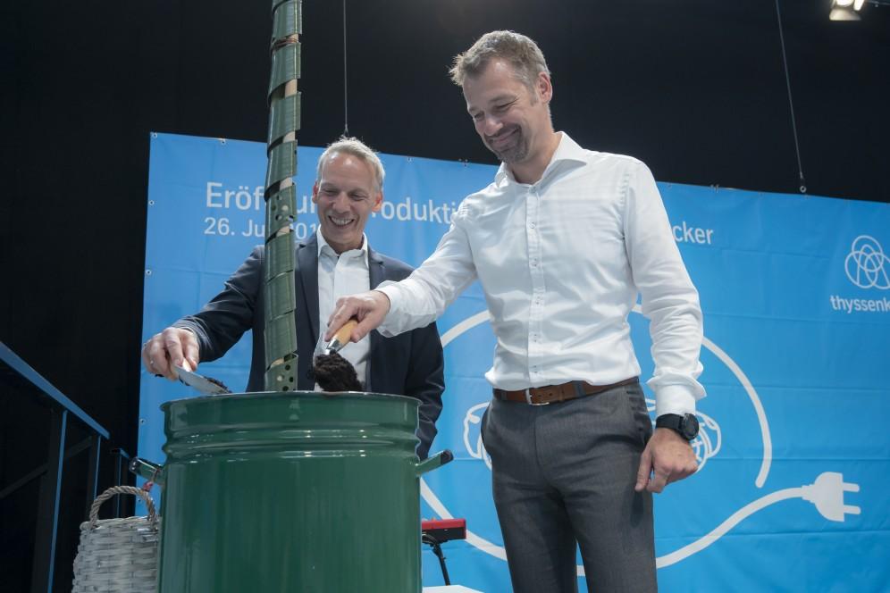 thyssenkrupp System Engineering und die Stadt Mühlacker - Kooperation im Sinne von Nachhaltigkeit und Wachstum