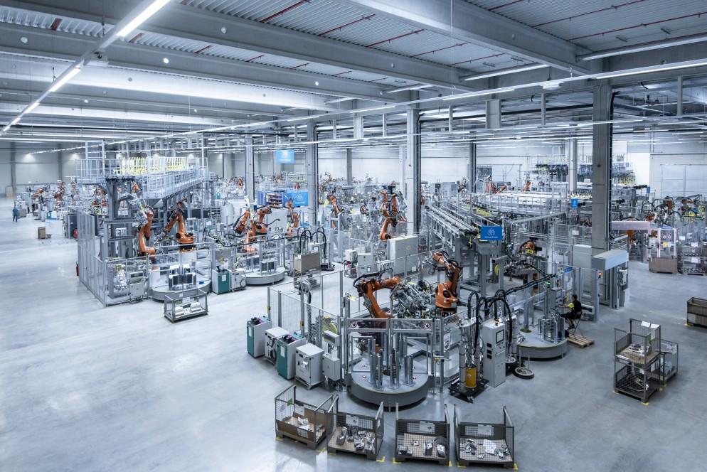 thyssenkrupp Muehlacker production hall
