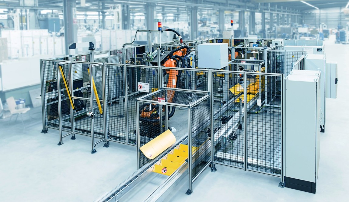 Motor assembly line from thyssenkrupp System Engineering