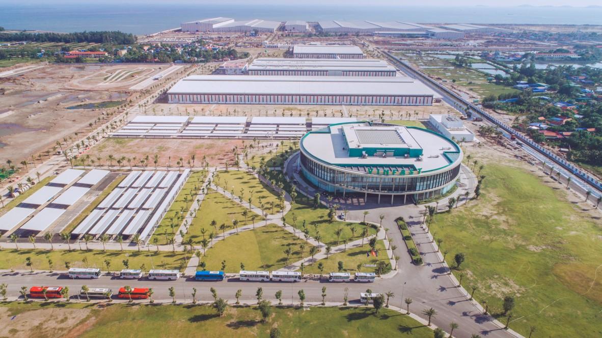 VinFast Produktionskomplex in Hai Phong, Vietnam