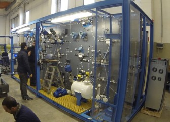 The HCI-OCD Test Skid brings the HCI-ODC to the customers.