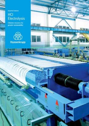 thyssenkrupp Uhde Chlorine Engineers, HCl ODC, diaphragm, electrolysis