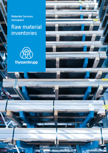 thyssenkrupp Aerospace - Raw material inventories (EN)