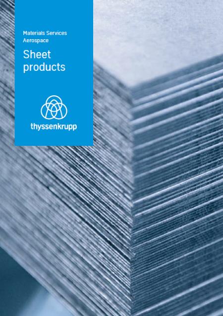thyssenkrupp Aerospace - Sheet products (EN)