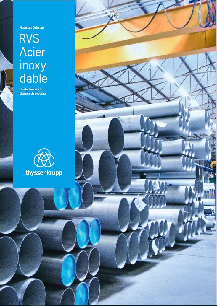 RVS/Acier inoxydable - Productoverzicht/Gamme de produits (NL/FR)