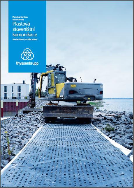 Brožura Plastová staveništní komunikace