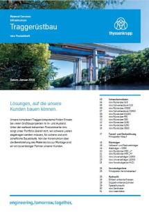 PDF Downloads Produktheft Traggerüstbau