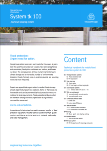 PDF Downloads technical Handbook Flood Protection